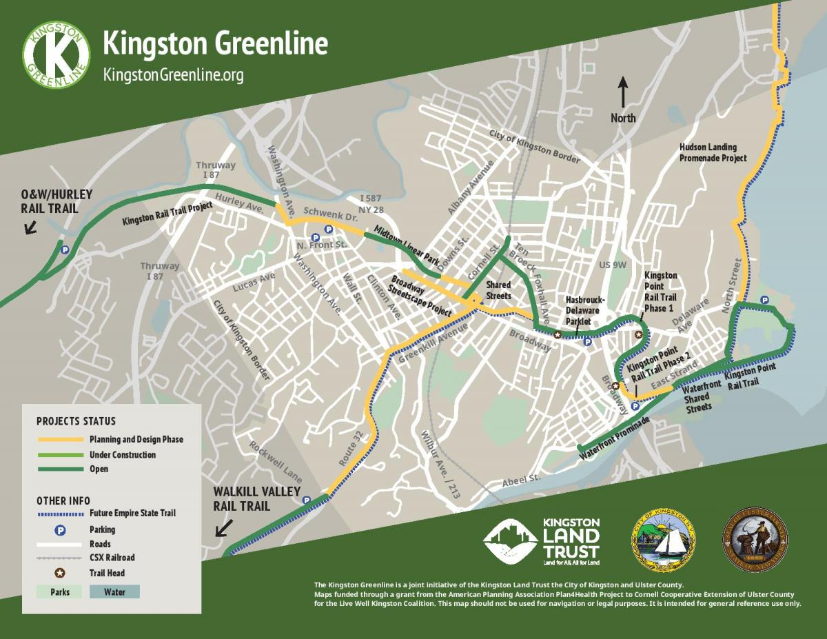 greenline map